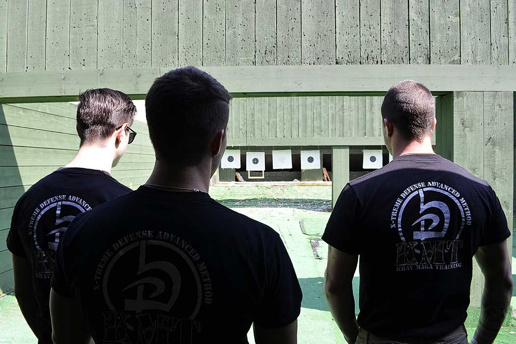 Krav Maga Training Shooting Range