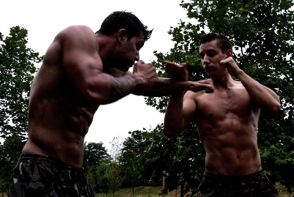 Krav Maga military bare knuckle punches and boxing workout