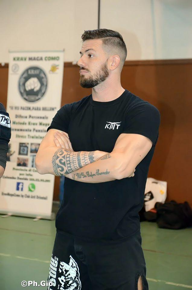 Luca Goffi Krav Maga Training