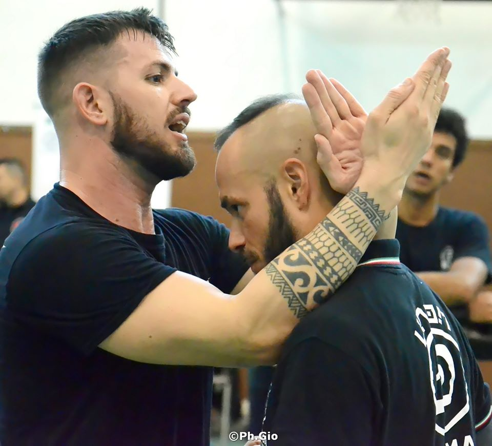 Krav Maga Como Union seminar in september 2019