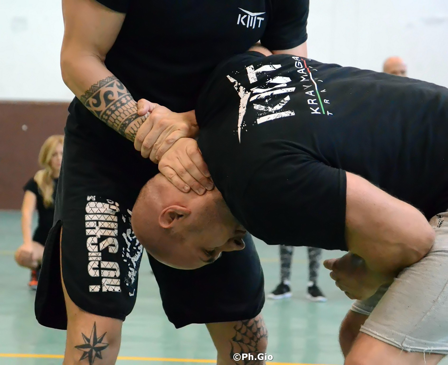 Krav Maga Como Union seminar with KMT