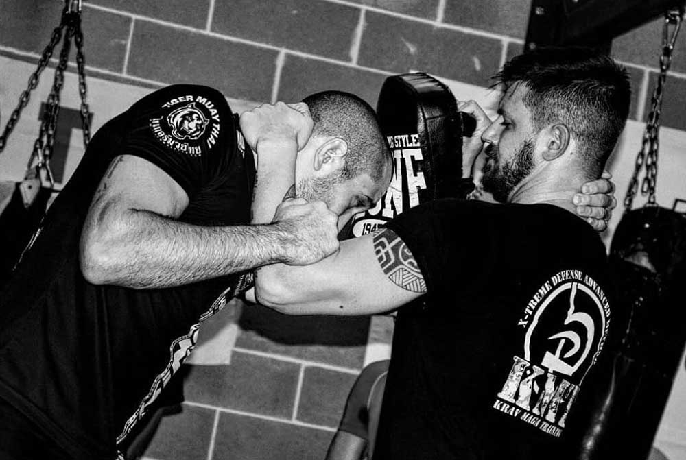 Dave Leduc Krav Maga Training