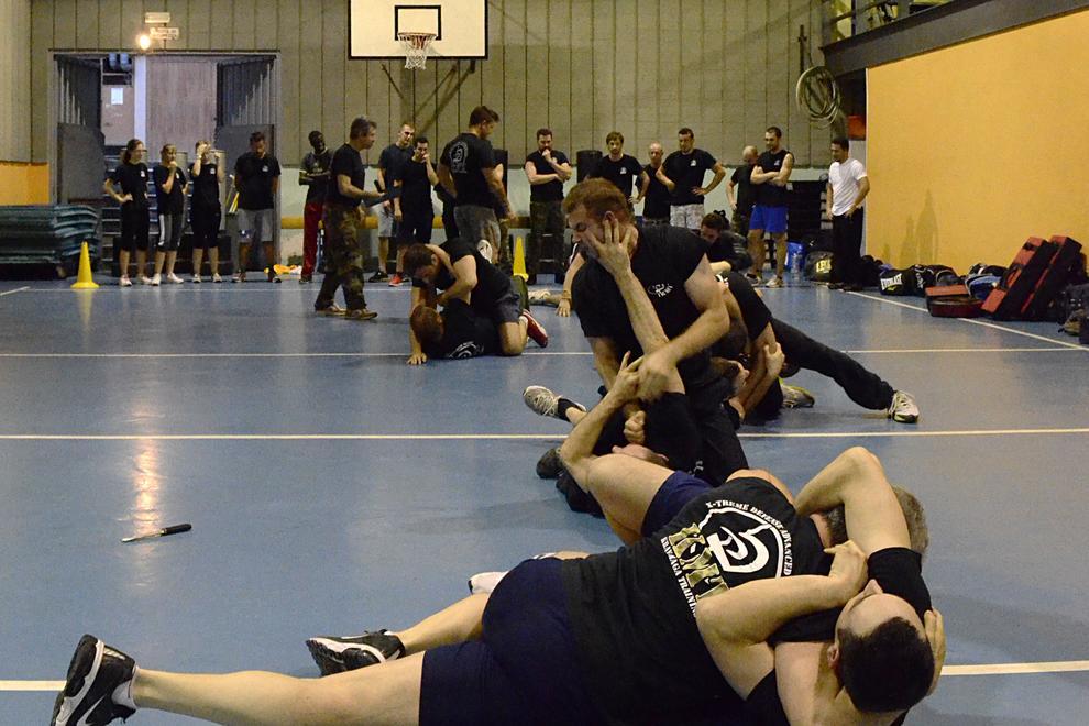 Ground combato and bjj - brazilian jiu jitsu
