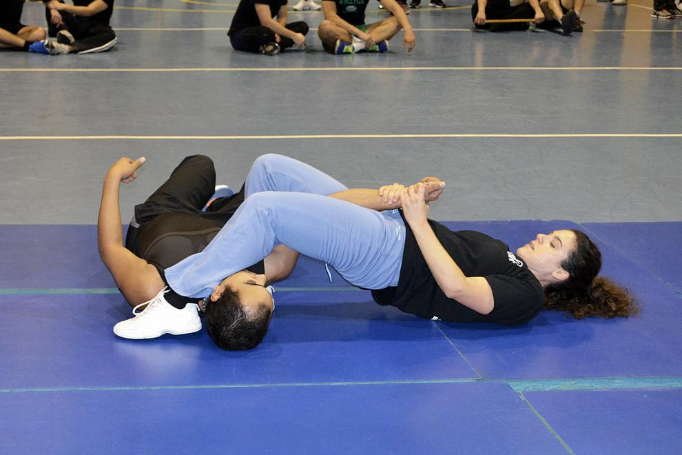armbar on the ground