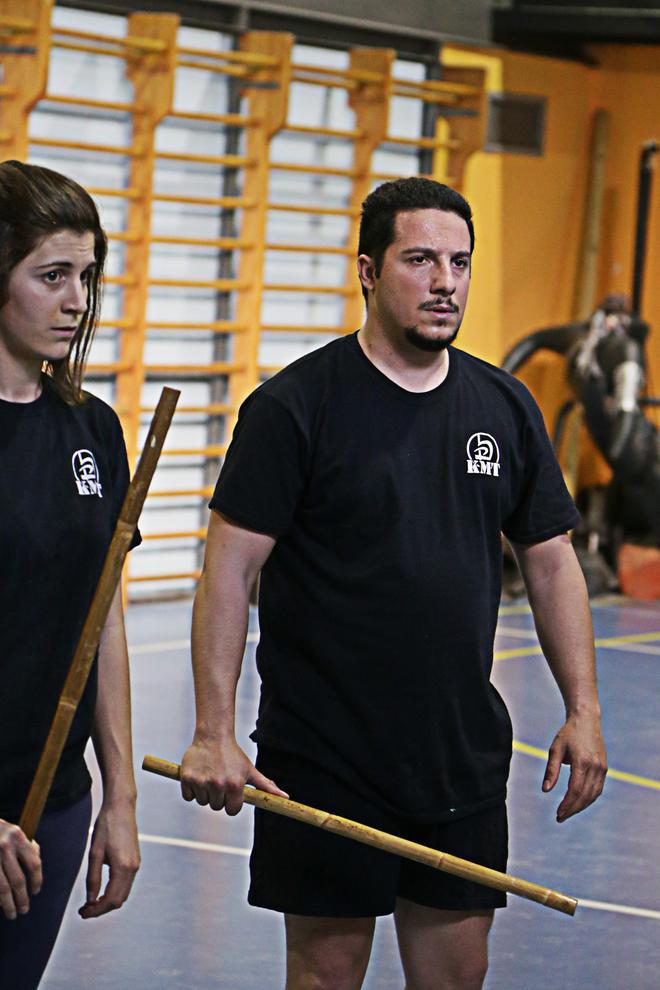 stick martial atrs training