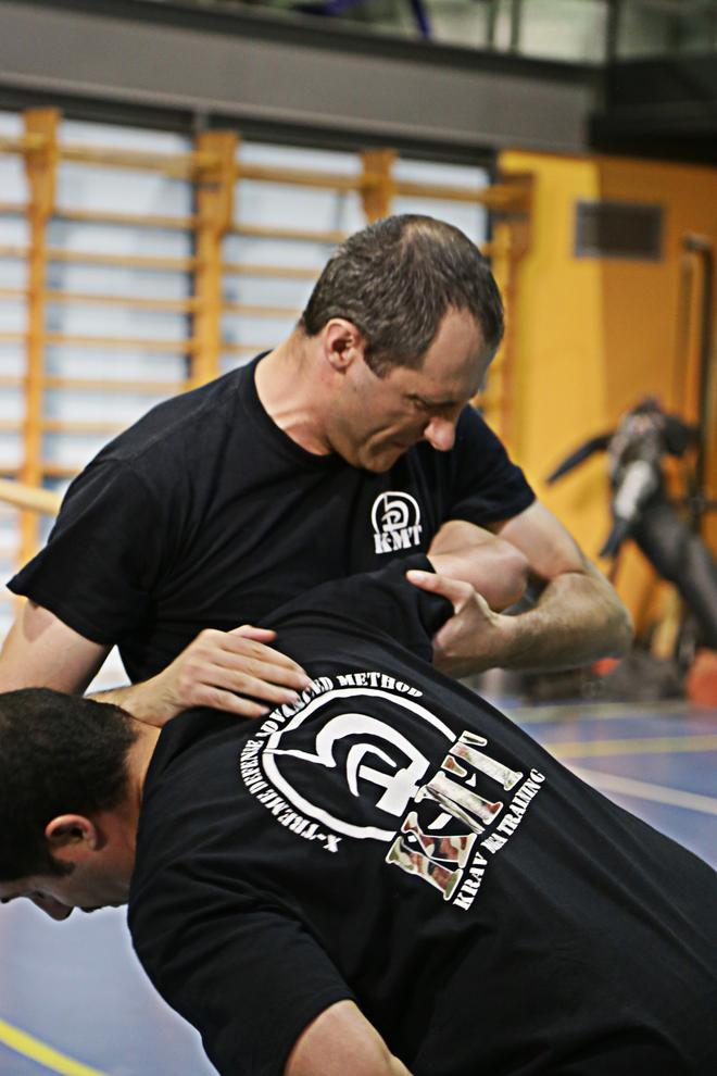 krav maga real fight