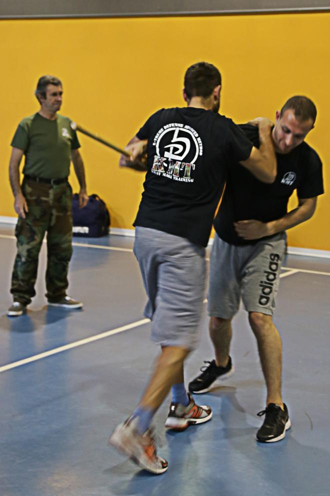 stick attack and defense