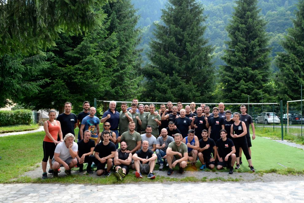 Krav Maga Training Summer Camp in Italy