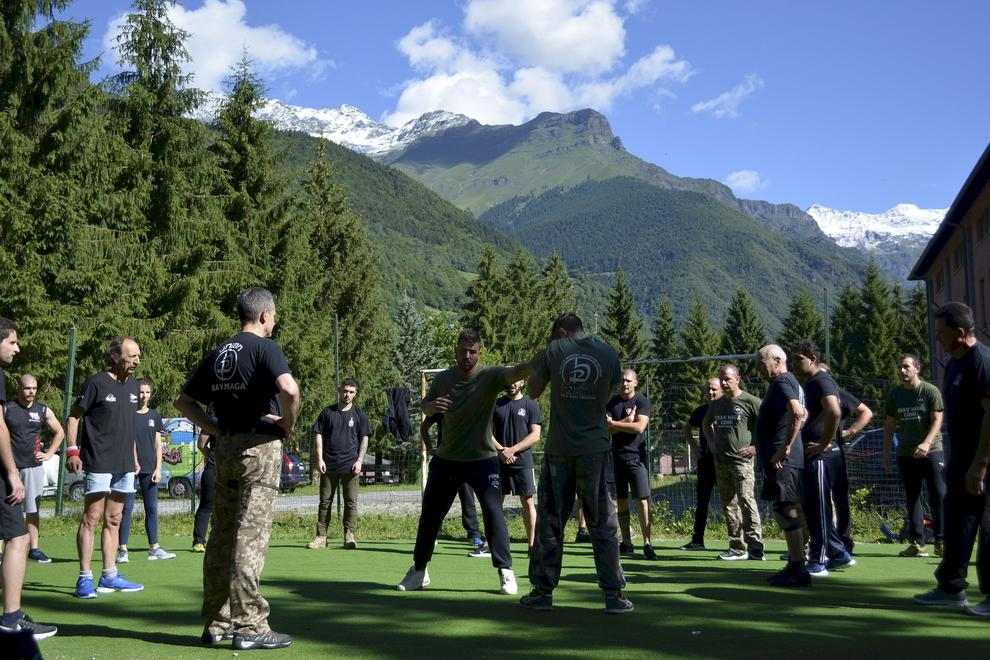 Krav Maga Training Camp in mountain location