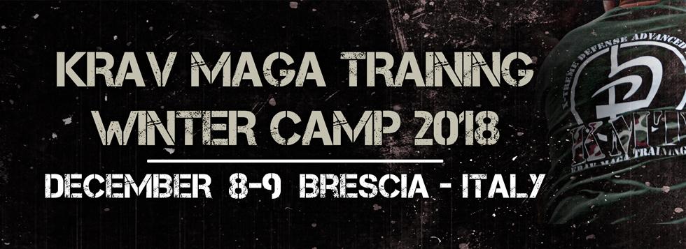 Krav Maga Training Winter Camp - Dicembre 2018