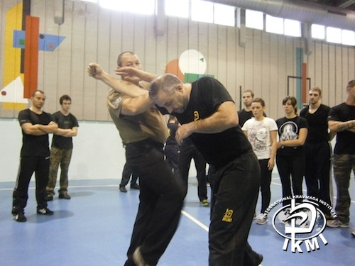 Stage IKMI International Krav Maga Institute - Antonio Monsellato