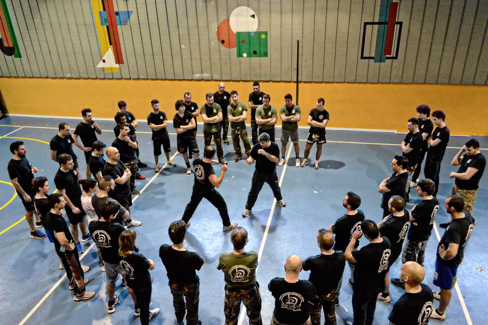 krav maga class in Italy