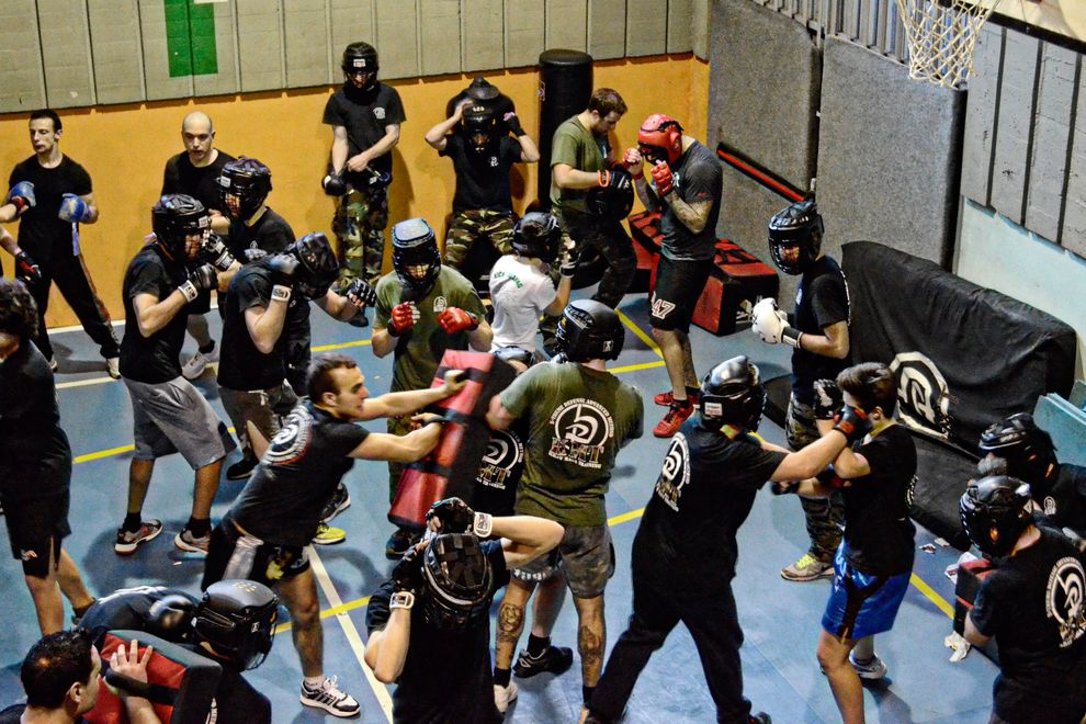 real brawl and fighting training