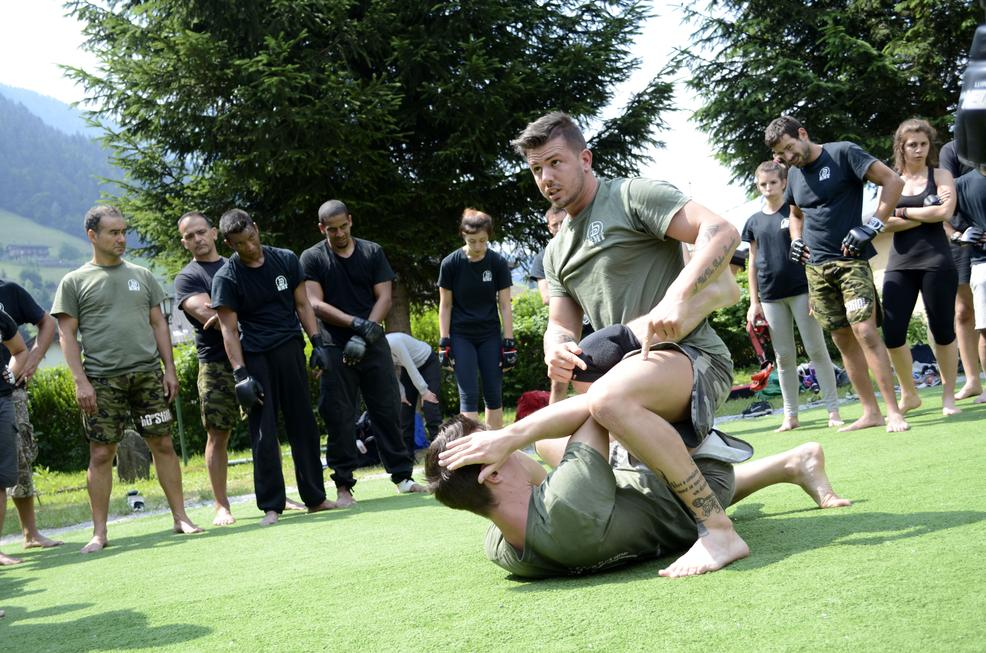 Krav Maga Training Summer Camp