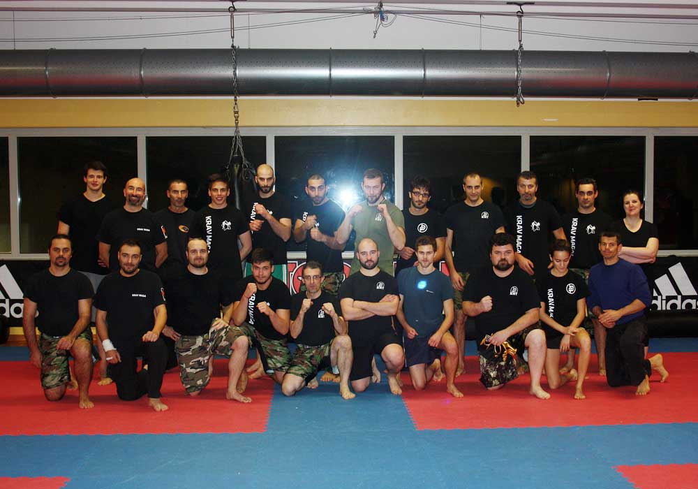Krav Maga seminar in Parma - end of workout