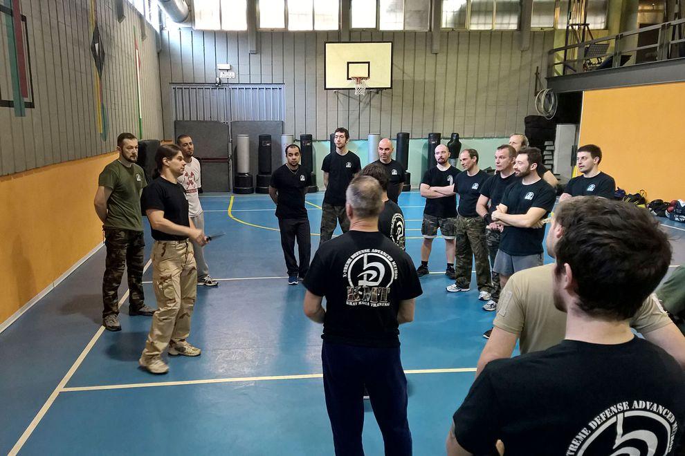 Seminar about Knife vs Knife - March 2015 - Krav Maga Training | EVENTS and Seminar