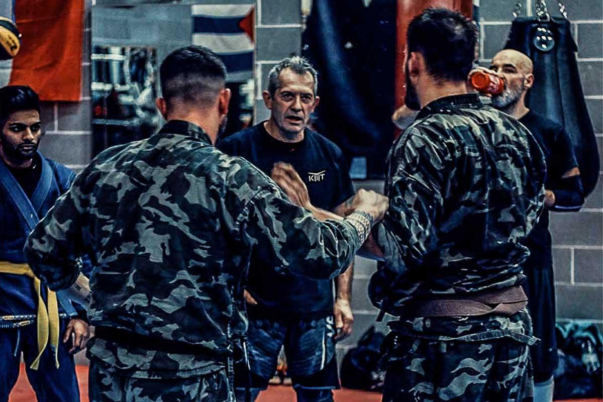 Livelli ed esami di Krav Maga Training con cinture