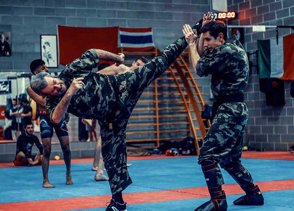 Krav Maga Training round high kick black belt | FOTO | PHOTOS