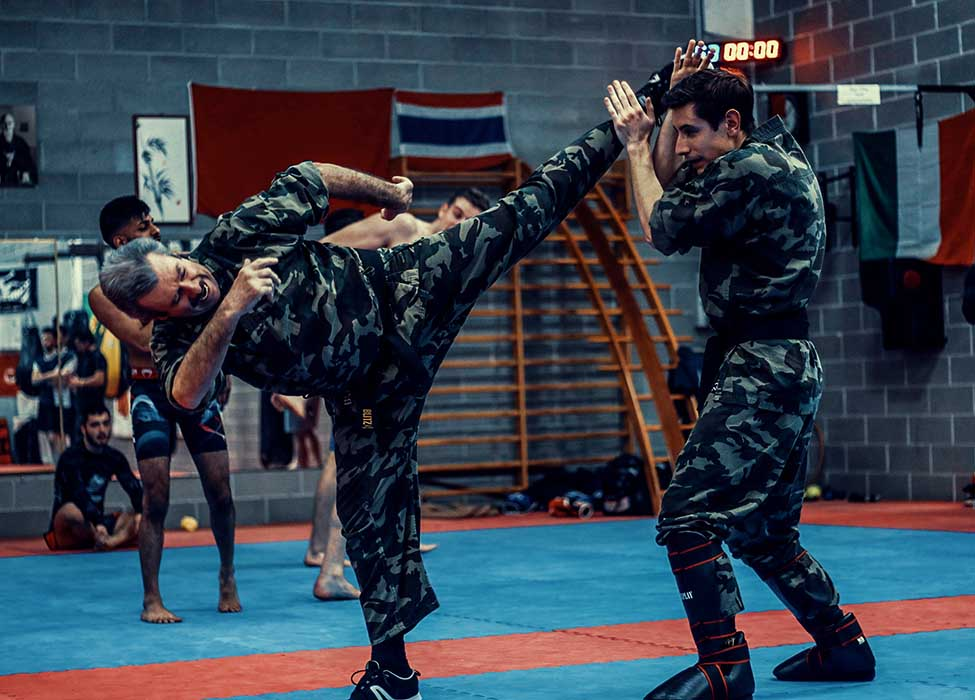 Krav Maga Training high kick Alberto Arietti vs Luca Arietti | FOTO | PHOTOS