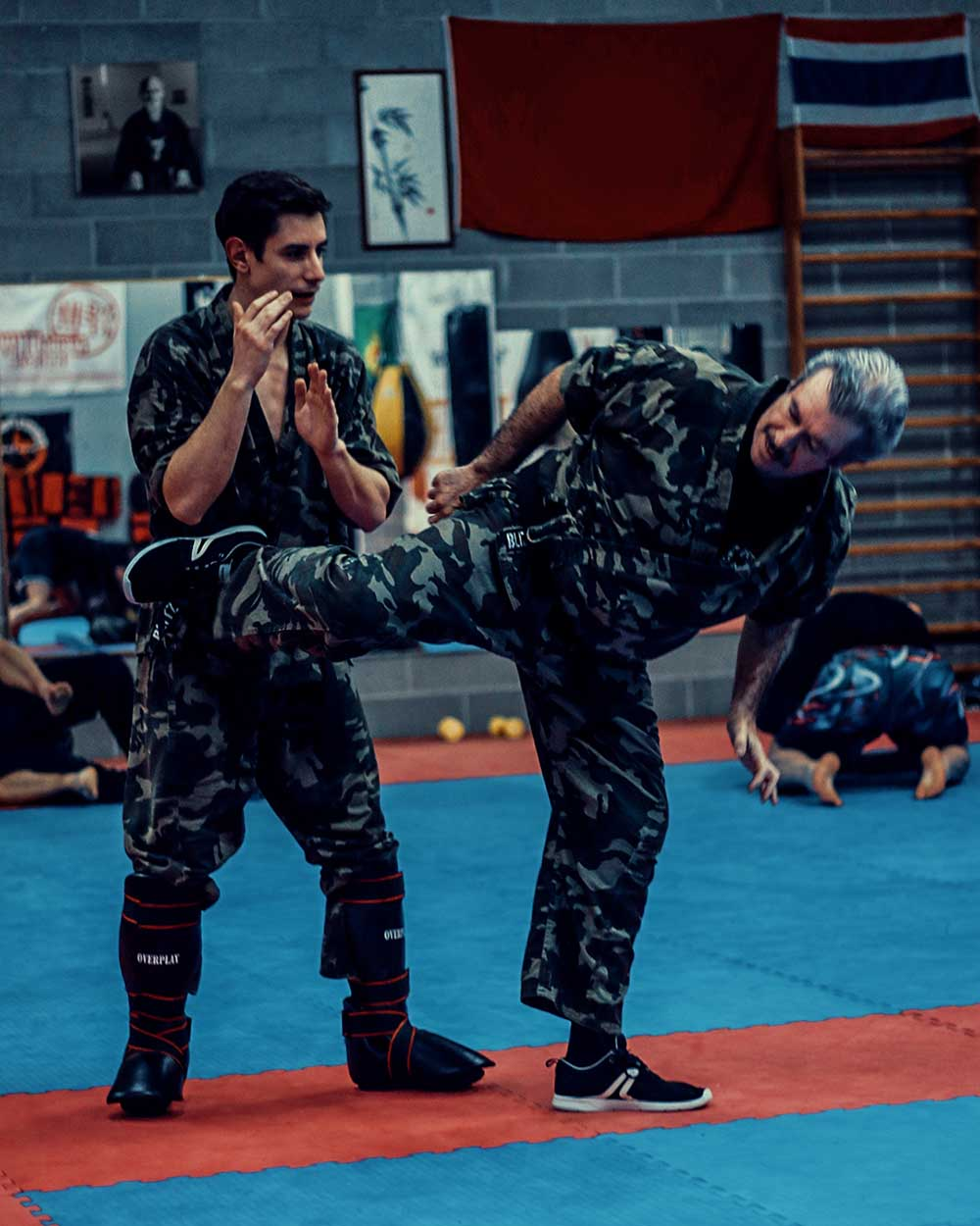 Krav Maga Training spinning back kick | FOTO | PHOTOS
