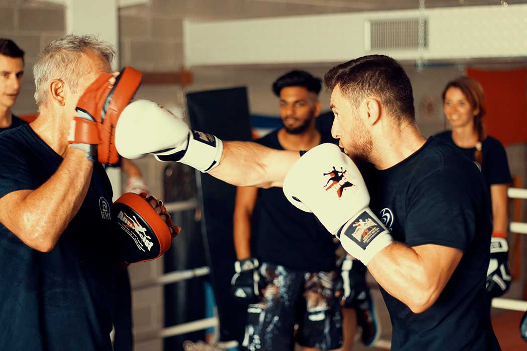 Krav Maga Training with pads | FOTO | PHOTOS