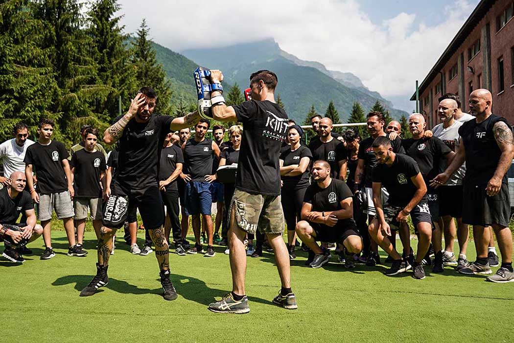 Krav maga Training Summer Camp with Italy Mountains