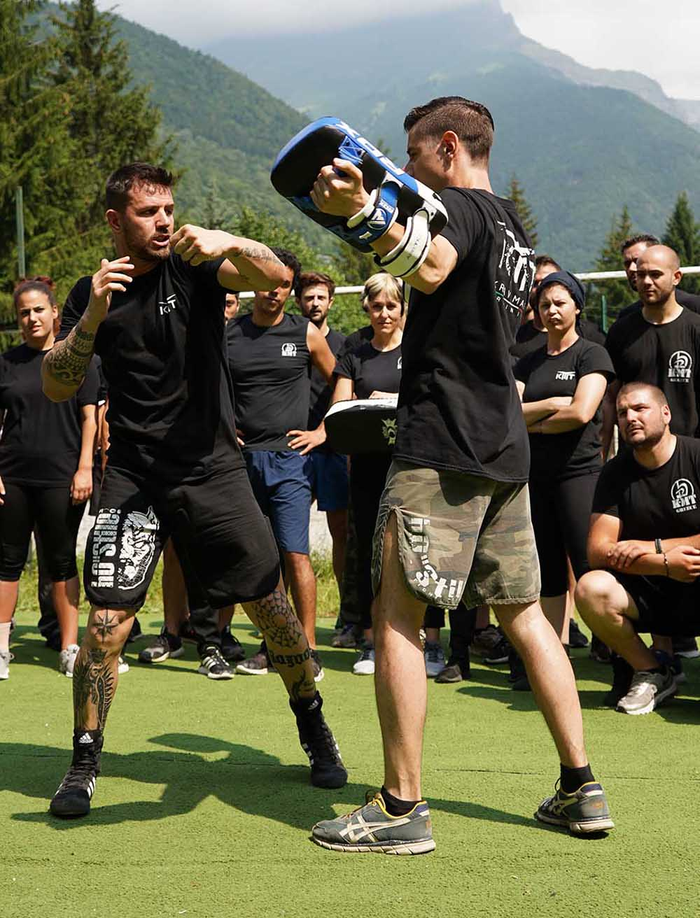 Krav Maga striking program for fighters