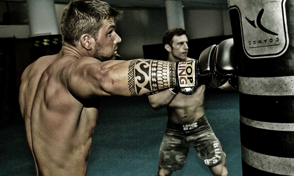 Luca Goffi MMA Training hardcore