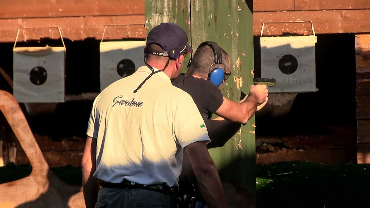 Arsenal Firearms STRIKE ONE shooting range gun targets