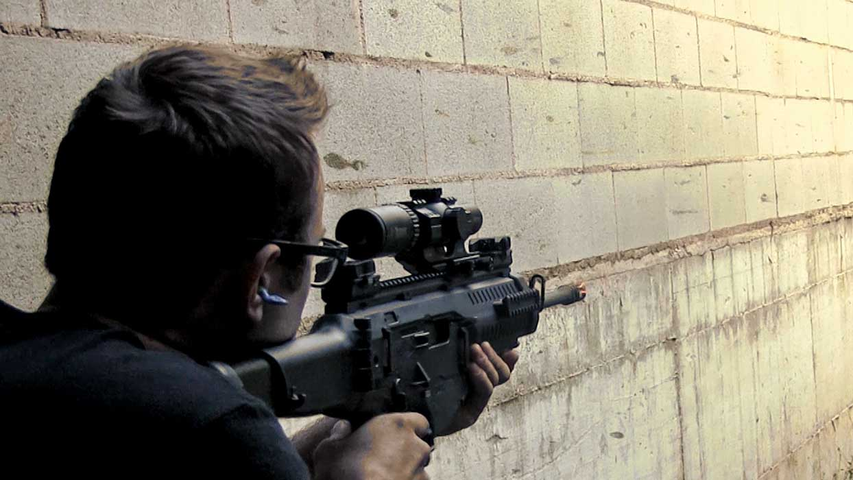 Beretta shooting range rifle ARX 100 WITH OPTICAL
